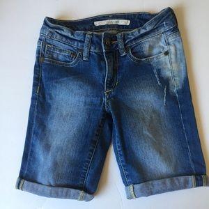 Joe's Jeans Bermuda Jean Shorts (Girl's 8)
